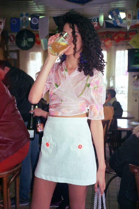 La blouse BOUQUET - MaisonCléo