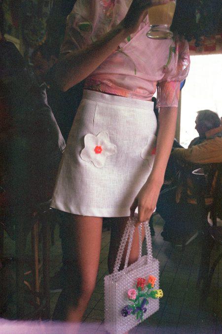 The BOUQUET beads skirt - MaisonCléo