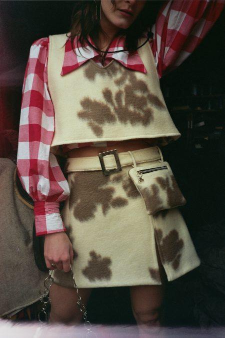 Le sac ceinture vache NANA - MaisonCléo