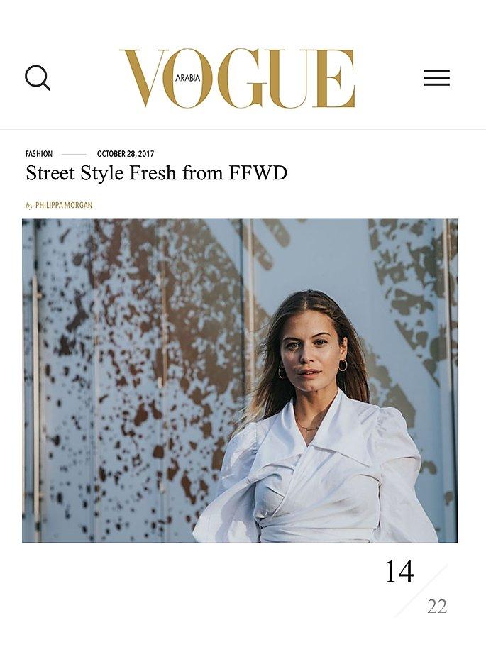 Vogue arabia / MaisonCléo