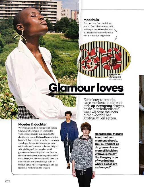 Glamour / MaisonCléo