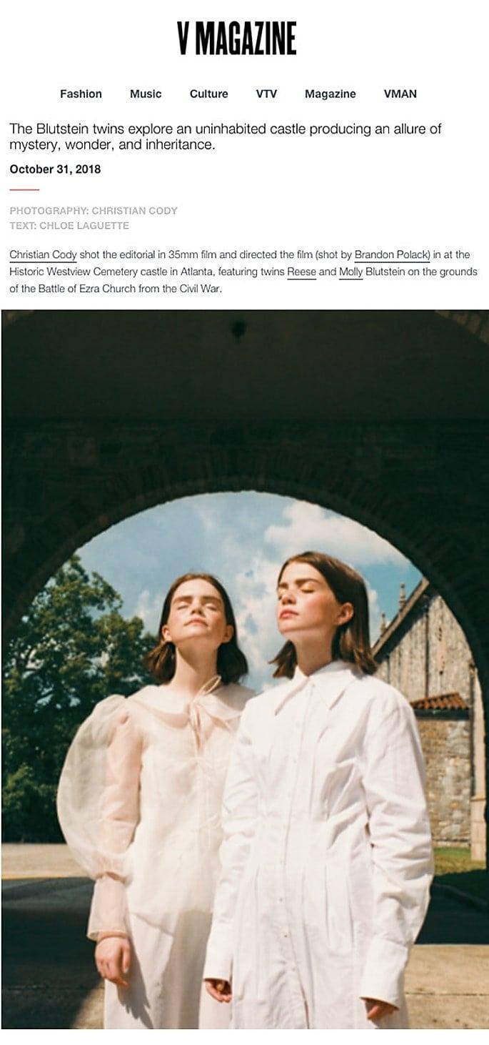 V magazine / MaisonCléo