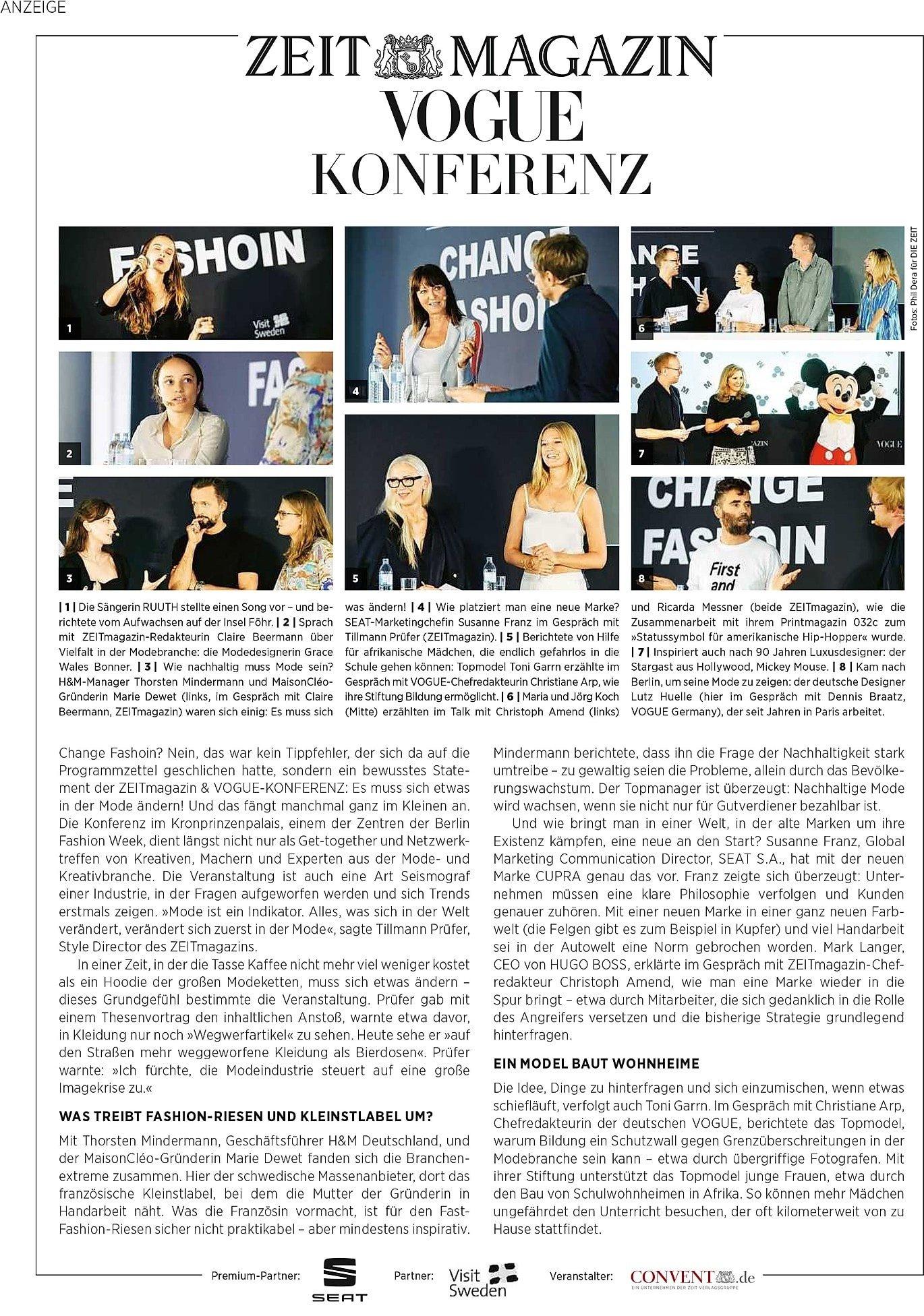 Zeitmagazine / MaisonCléo