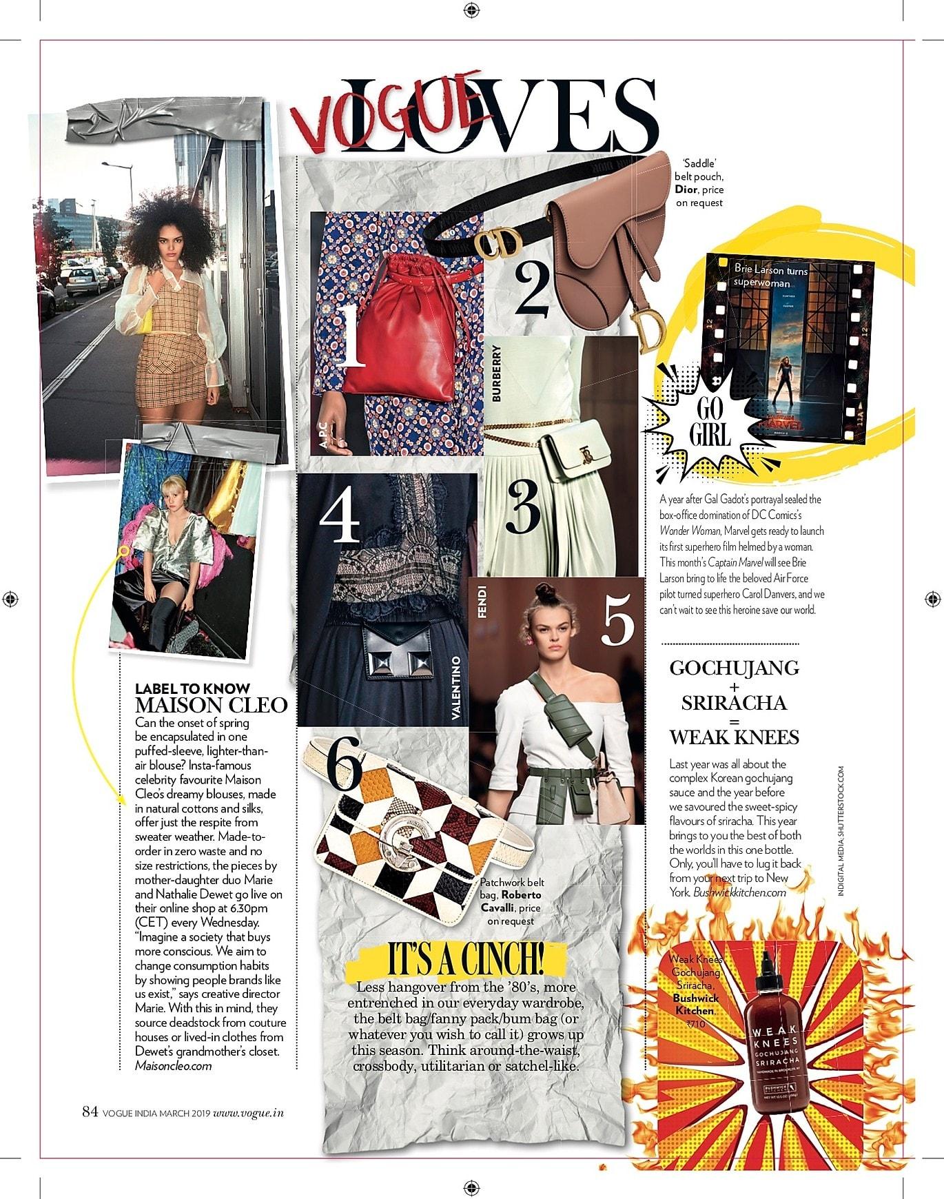 Vogue india / MaisonCléo