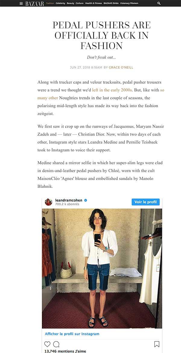 Harpers Bazaar / MaisonCléo