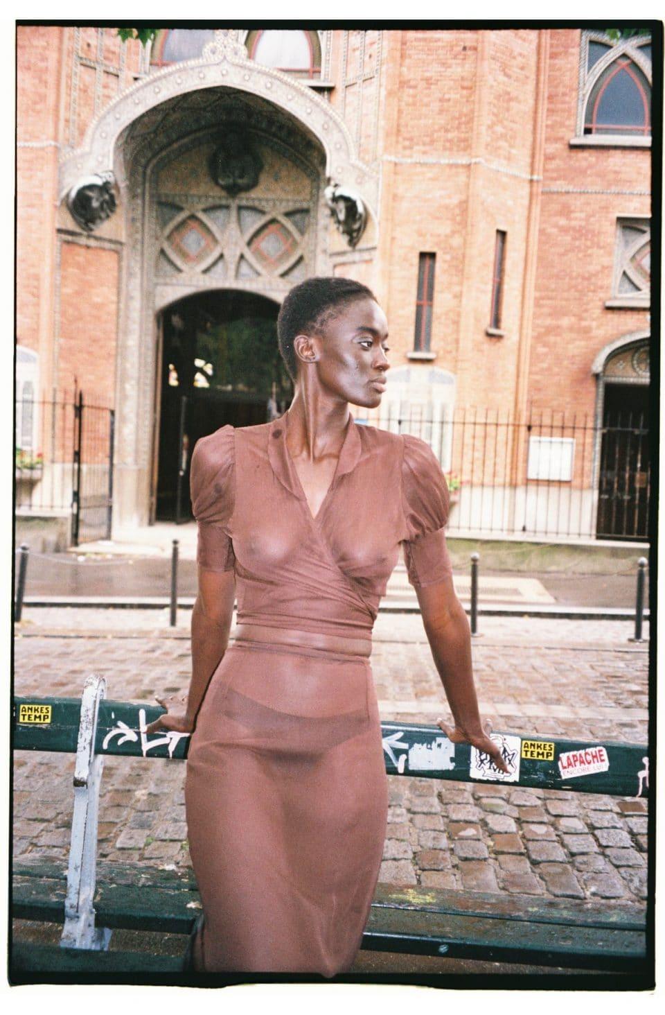 MaisonCléo / Anita brown silk
