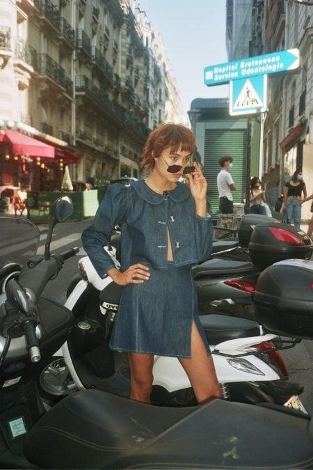 SOPHIA jeans jacket - MaisonCléo