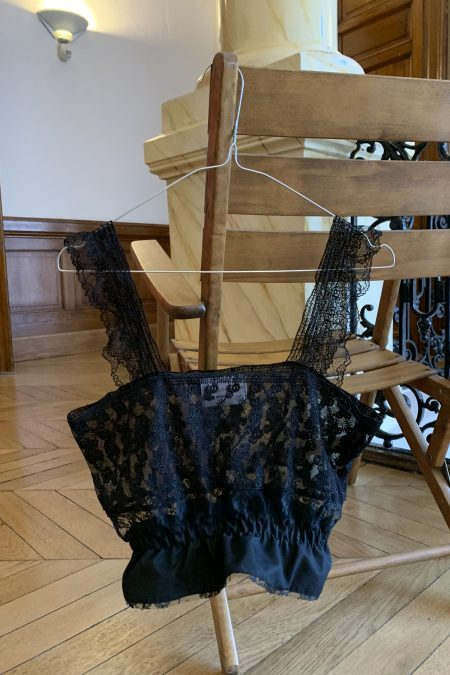 MIMI black lace top II - MaisonCléo
