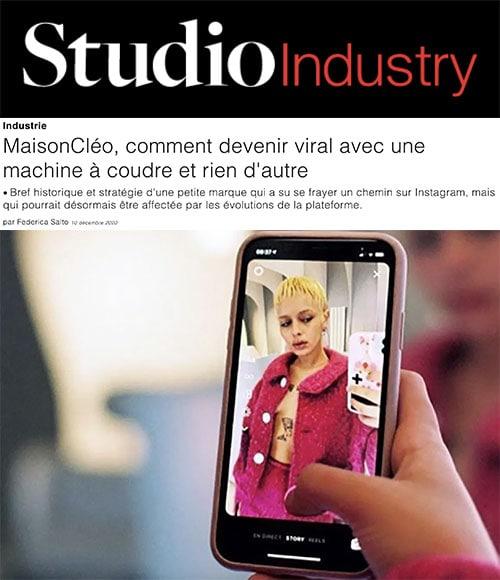 studio industry / MaisonCléo