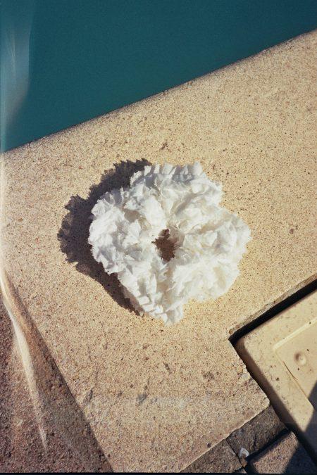 Ruffled cotton Anne SCRUNCHIE - MaisonCléo