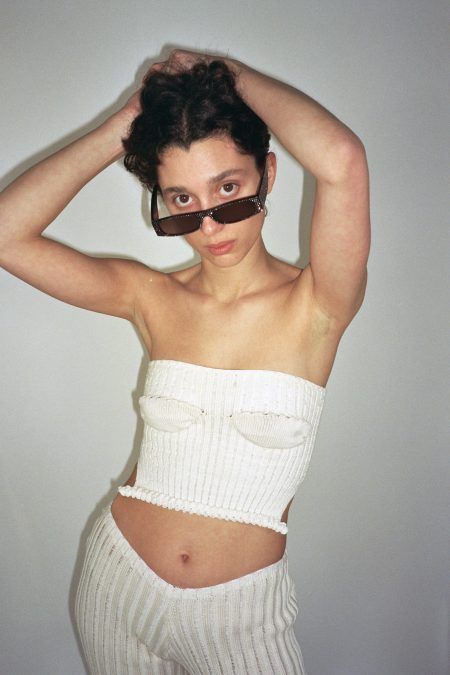 Corset en maille CLAUDE boobs style - MaisonCléo