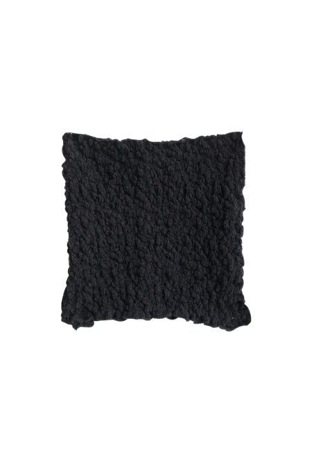 MANU black knitted cotton bustier top - MaisonCléo